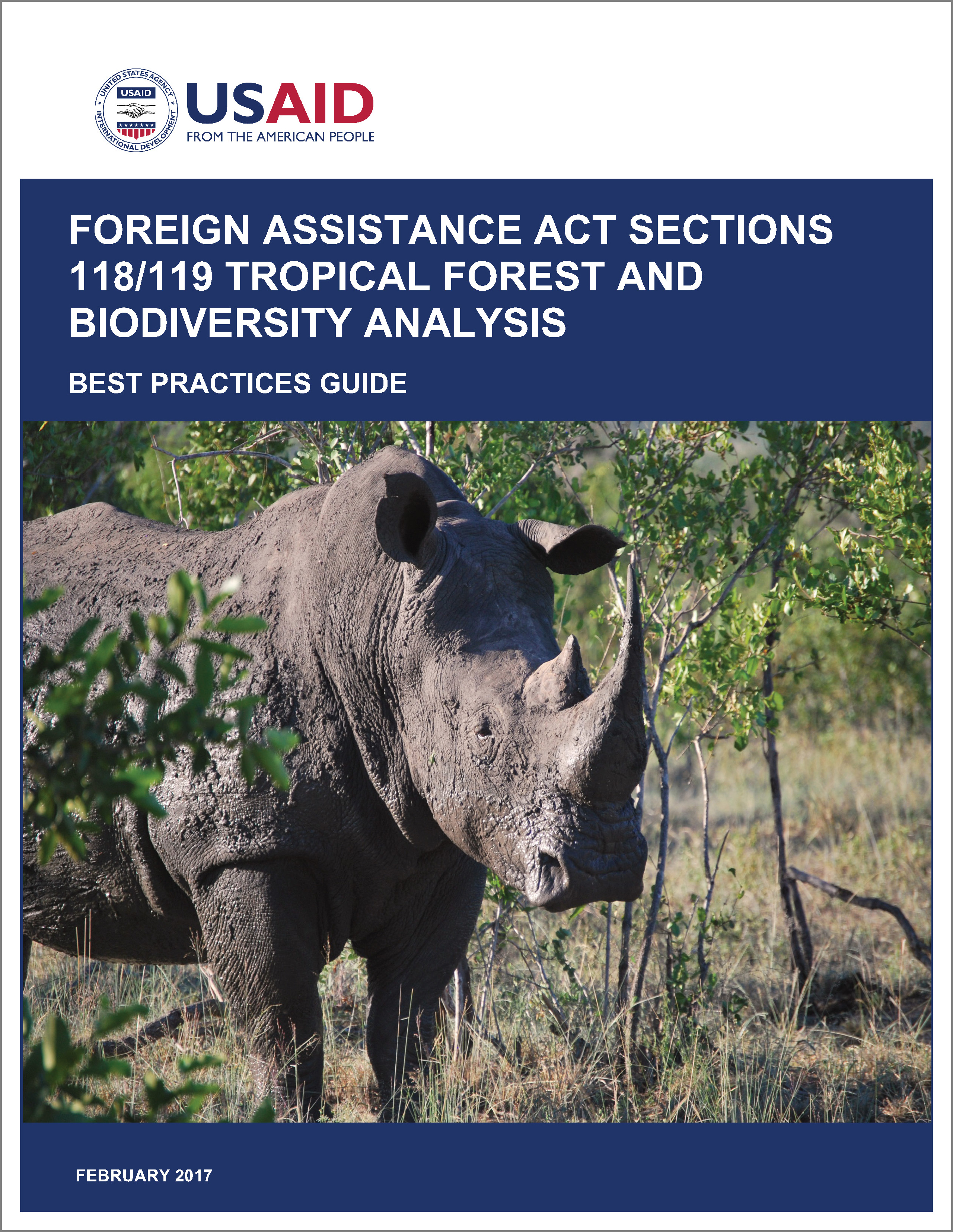 Foreign Assistance Act Sections 118/119 Tropical Forest and Biodiversity Analysis cover image